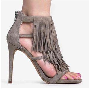 Steve Madden Tassle Heels Size 6.5